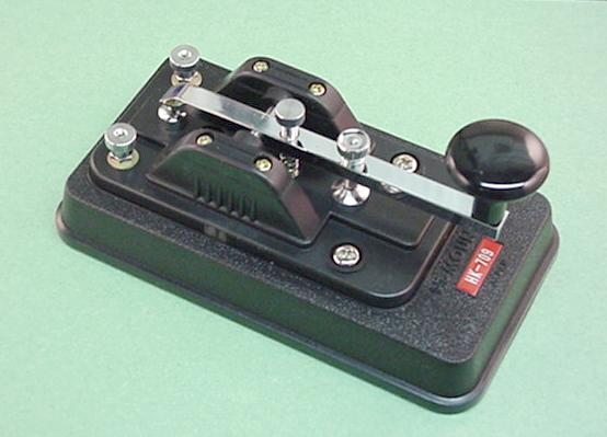 Hi-Mound Morse Keys and Paddles