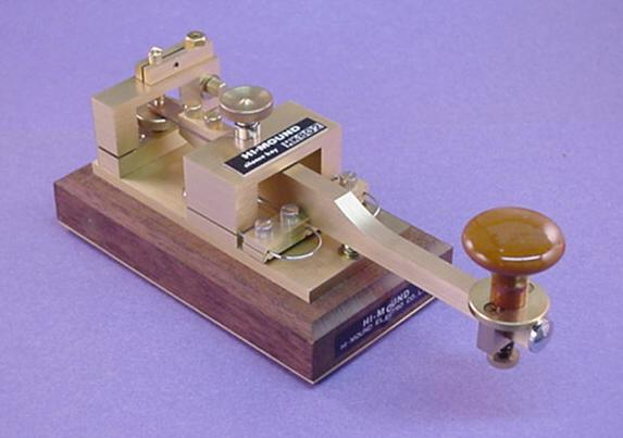 Hi-Mound Morse Keys and Paddles