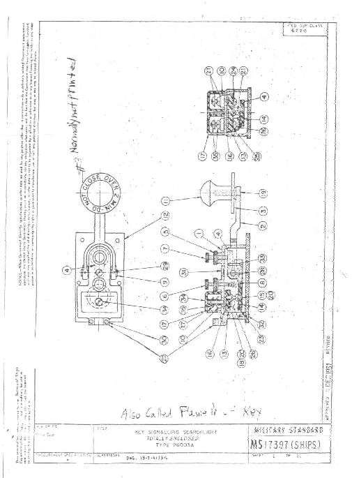 NFN Key Collection Page - Wiring diagram telegraph key